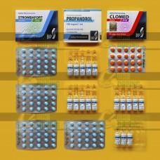 Курс Станозолол + Тестостерон пропионат