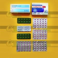 Эффективный курс на сушку Кленбутерол и Кетотифен